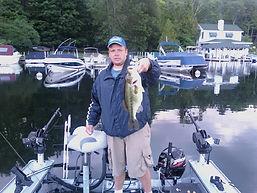 Lake George Diamond Cove Bass Fishing