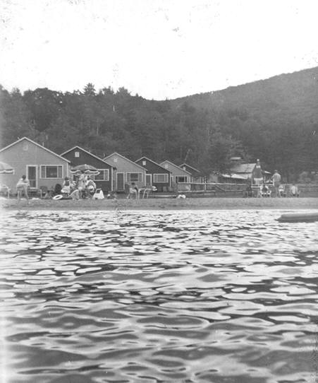 July 1956-View of Diamond Cove