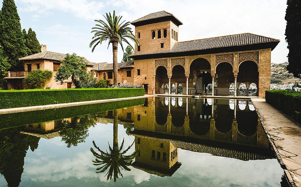 Palacio del Partal. Picture: Nathan Dukes