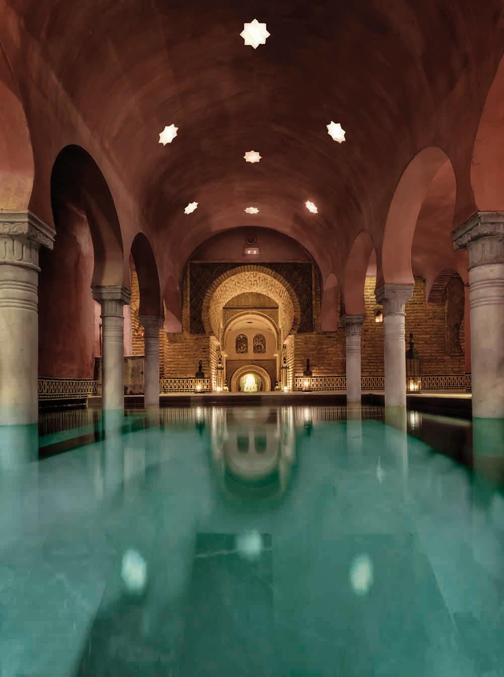 Hammam Al Andalus arabic bath Granada Spain