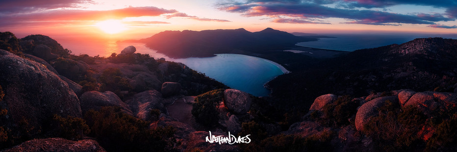 Wineglass Bay Sunrise