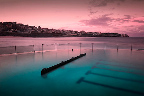 Bronte Pink Sunset