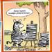 Zebra'nın sanat hayatı iyi gitmiyor 😂 Karika: Selçuk Erdem