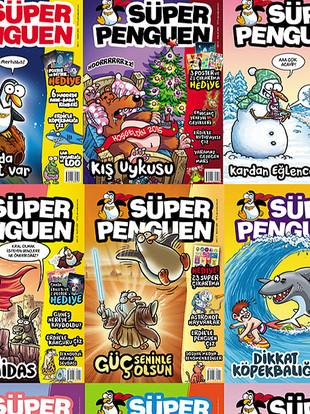 Süper Penguen'in tüm sayılarını buradan alabilirsiniz.