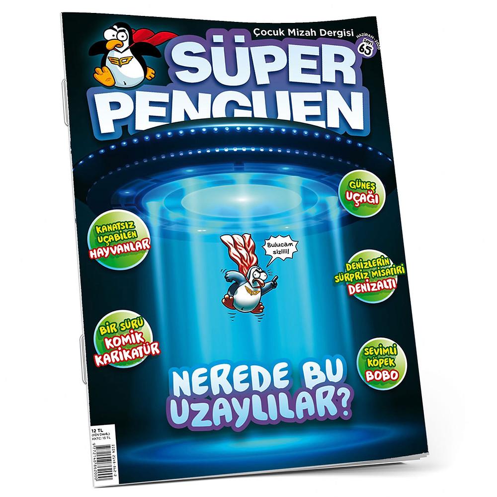 Ayrıca denizaltılar, kanatsız uçan hayvanlar, komik karikatürler ve eğlenceli çizgi romanlar süper derginizde.⠀ Bayilerden, http://superpenguen.shop 'tan ve dijital olarak @dergilik 'ten dergimize ulaşabilirsiniz.⠀