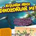 Kuşların atası dinozorlar mı? Eylül sayımızda senin için araştırdık! 🧐