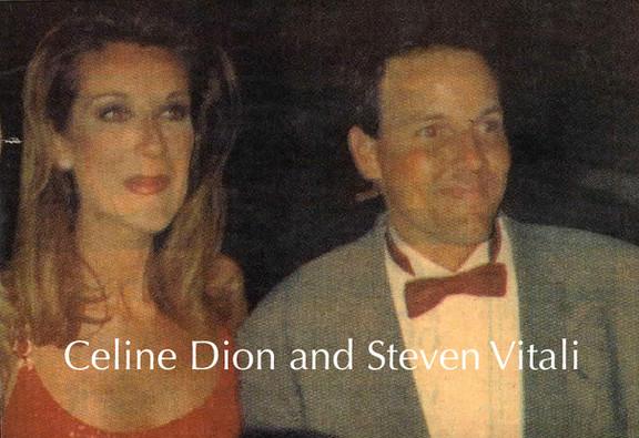 Steven Vitali and Celine Dion