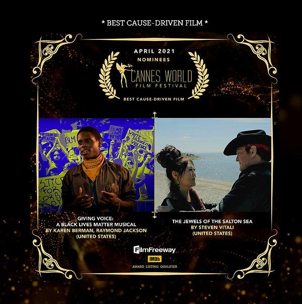 Nominee Best Cause Driven Film .jpg