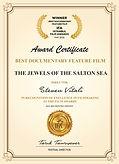 Certificates Istanbul Film Awards THE JE