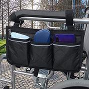 Zipped Armrest Bag Pouch