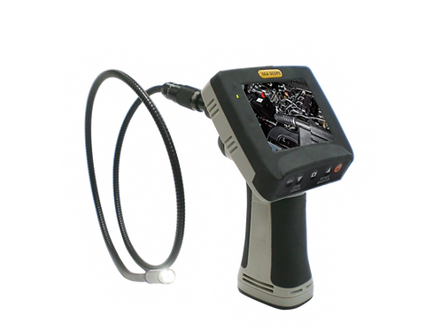 "TEAMFORCE TF-2989BMX80 8mm Water-proof Video Inspection Camera with 3.5"" Display"