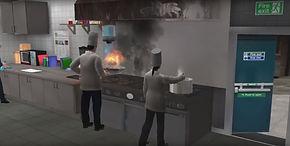 BSC kitchen VR