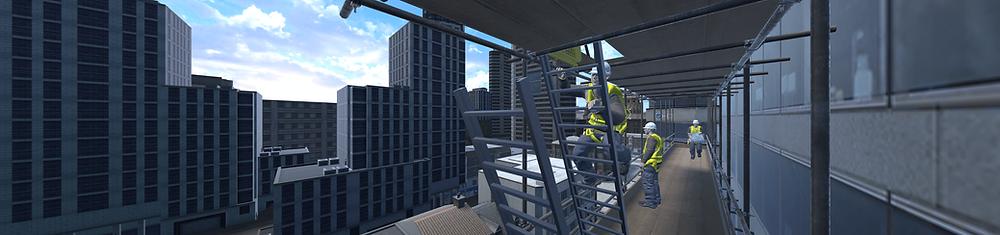 GKR Scaffolding VR training