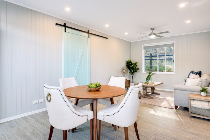 Granny Flat Living and Dining Room