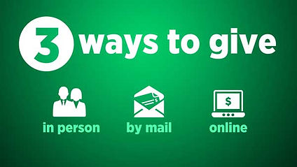 Ways to give and Online givng to Poplar Springs Baptist Church