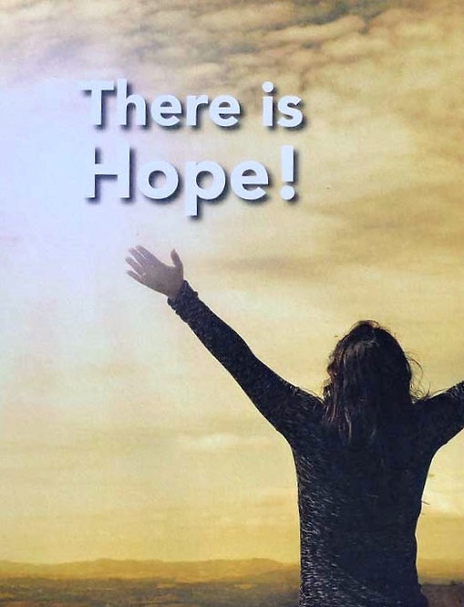 Hope - Prayer Rock Greeting Card