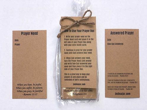 Prayer Box Cards