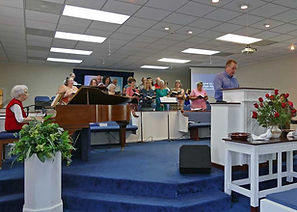 Worship at Poplar Springs Bptist Church