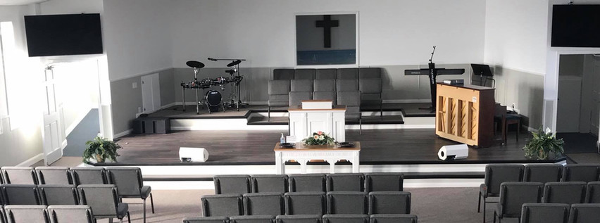 2019 Sanctuary Renovations at Calvary Dalton
