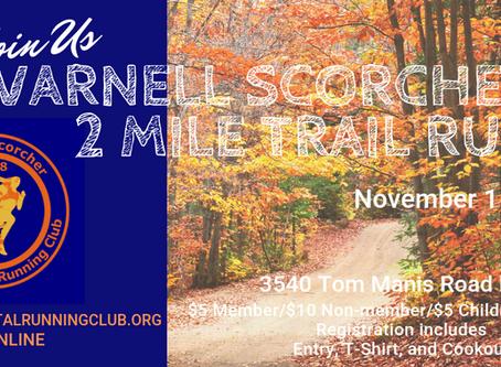 Varnell Scorcher 2 Mile Trail Run