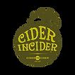 CiderIncider-Logo-Olive-SolidBackground.