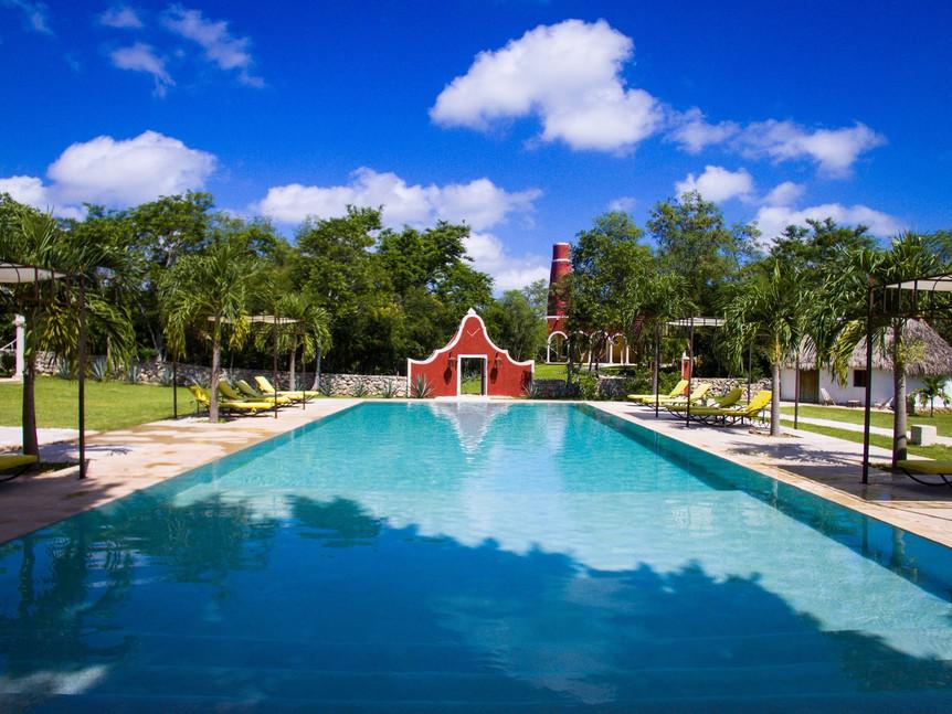 Hacienda Ticum hotel in Merida by Trip a