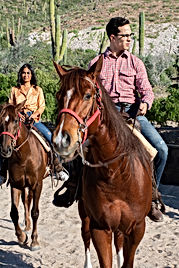 horseback riding in baja at rancho san lorenzo la paz baja california sur