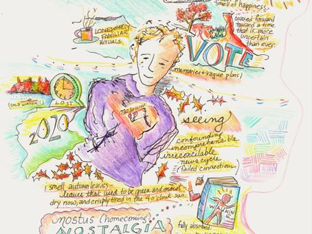 Blog 42: Art helps. Build fluency. Vote.