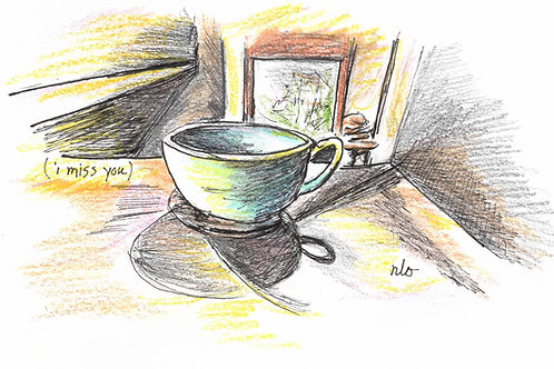 cider cup greeting card