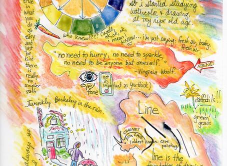 Blog 20: Kindness, the color wheel, and daffodils.