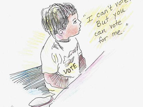 vote....for the children