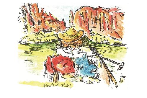 canyon greeting card