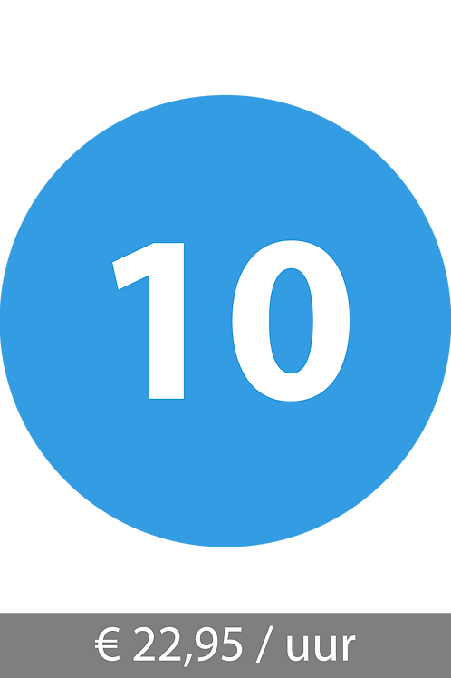 10-lessenpakket