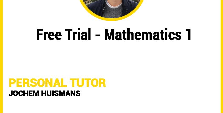 Mathematics 1 - Free Trial Lesson A