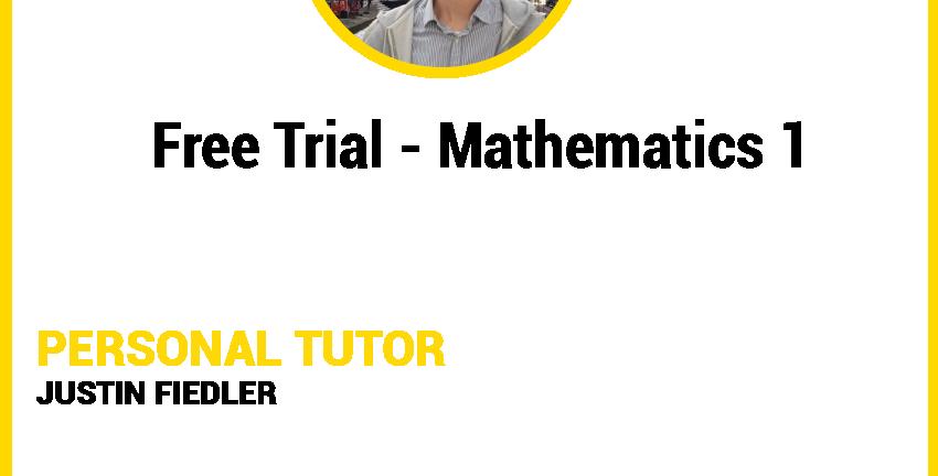 Mathematics 1 - Free Trial Lesson C