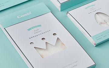 包裝設計,嬰兒用品,combi康貝,Identity,Packaging