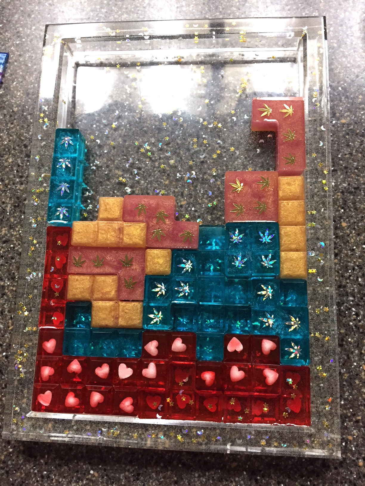 Assorted TETRIS Cubes