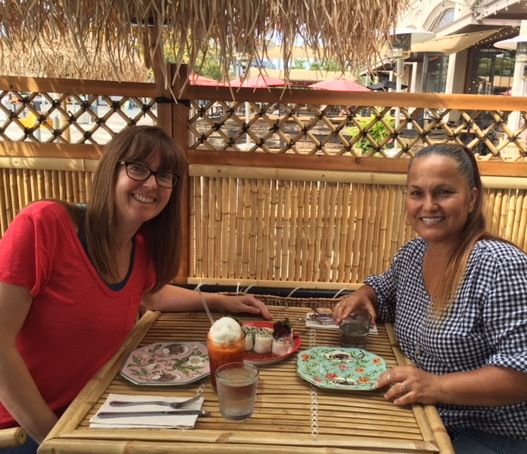 Lunch with Loralee