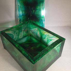 EMERALD BOX wLID
