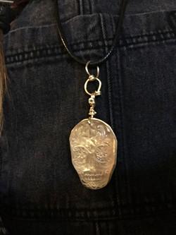 Krystal Skull Pendant