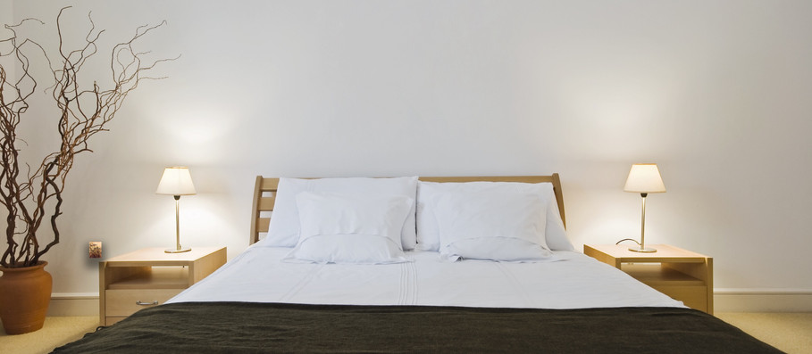 White Bedroom Wall