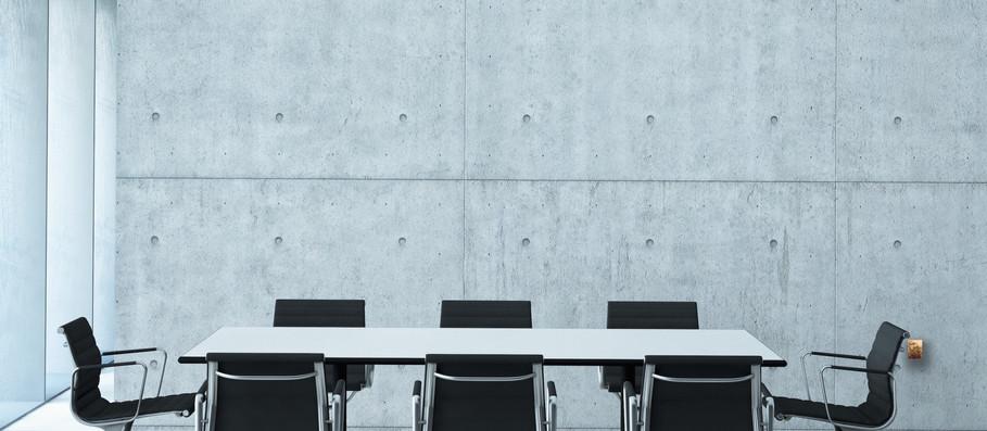 Concrete Board Room