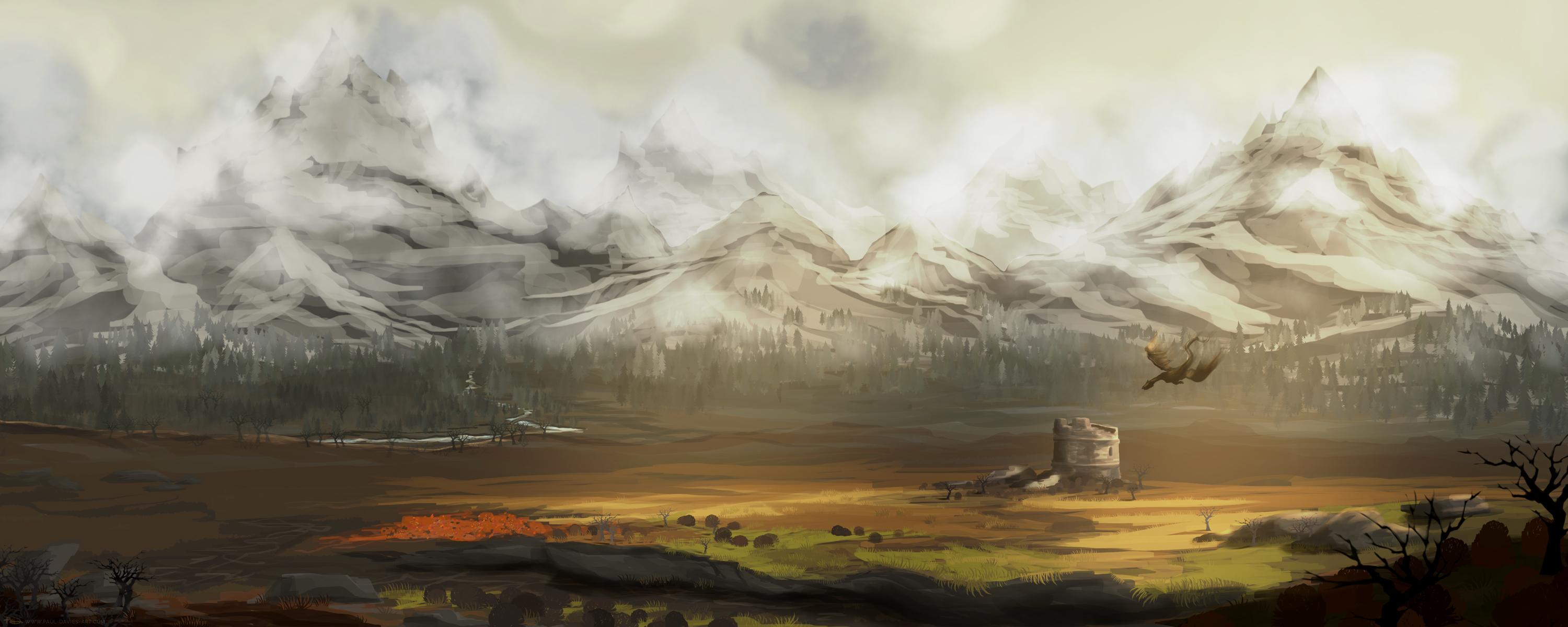 Western Watchtower - Skyrim Fanart