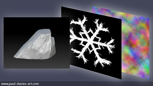 ice frost spell game art visual effects VFX magic fantasy paul davies