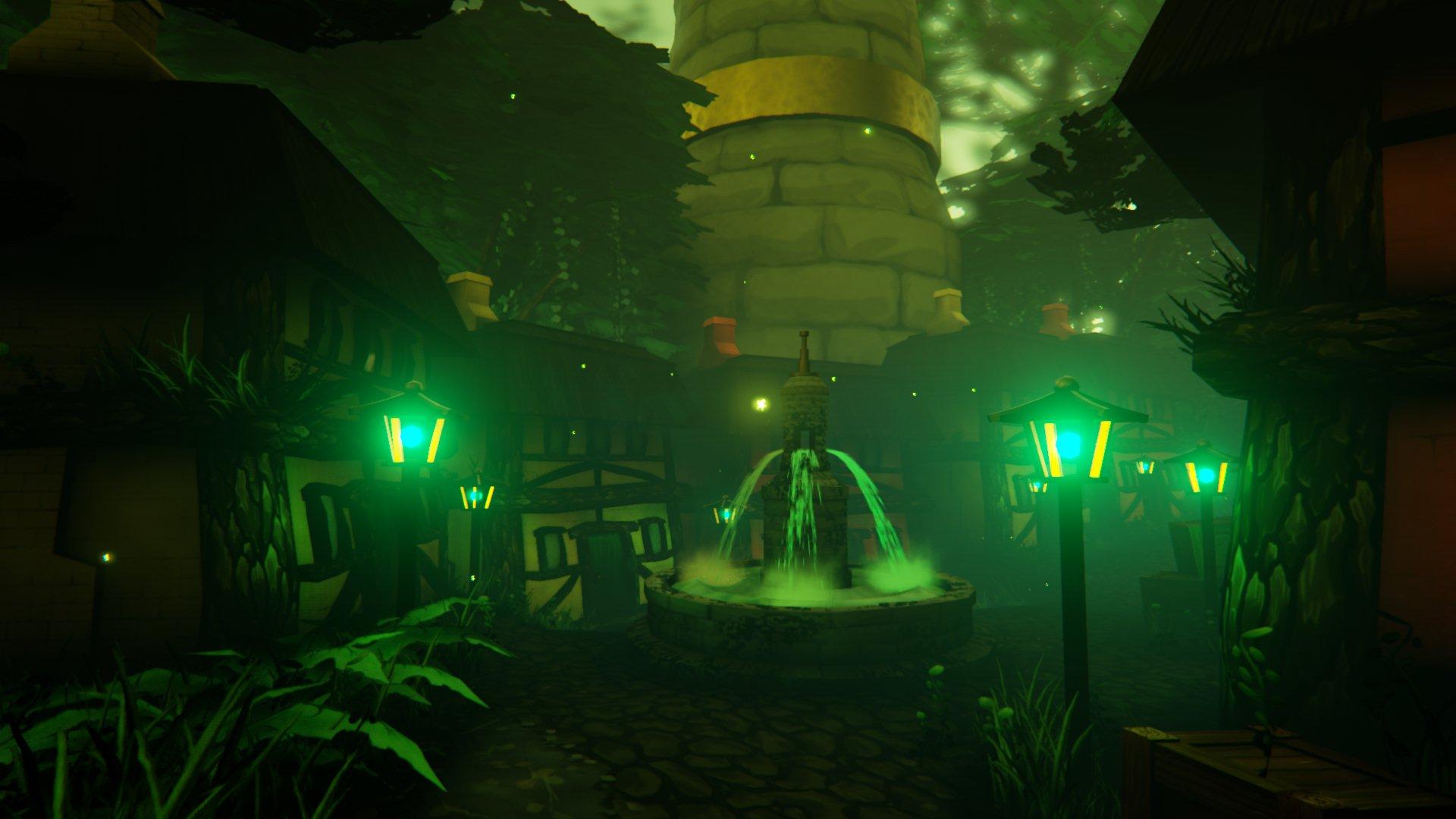 Fountain - Forest Village
