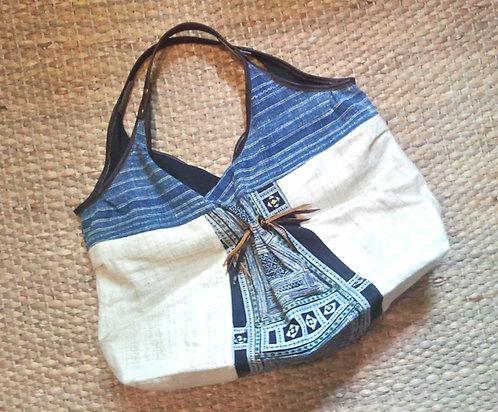 Hmong Vintage Indigo Bag