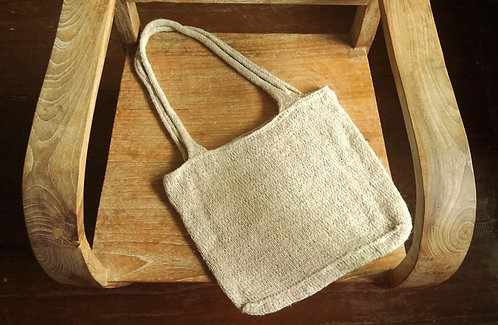 Hemp Hand Knit Bag * Big*