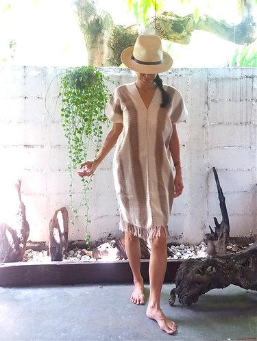 Karen HIll Tribe Handwoven Beach Poncho