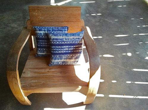 Indigo Batik Mini Pillow ☾