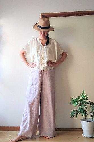 Cotton Gemini Pants /  4colors